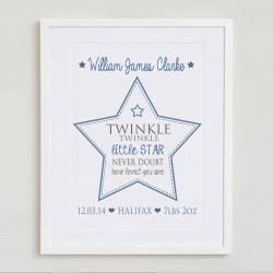 Twinkle Twinkle little star (detailed)
