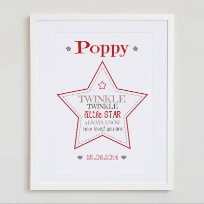 Twinkle Twinkle little star (simplified)