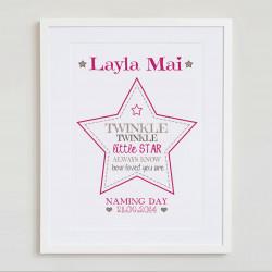 Naming Day Star