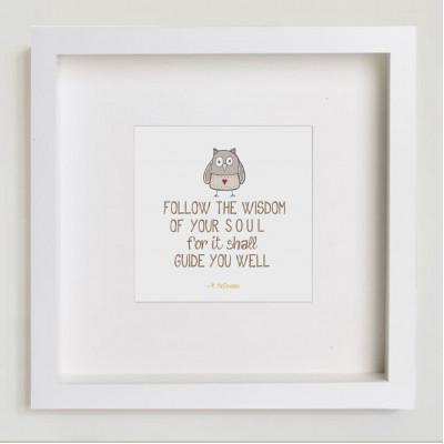 Follow the Wisdom..
