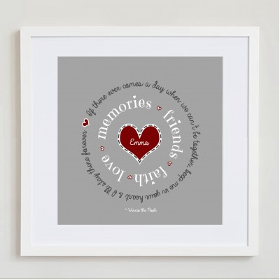 Keep Me In Your Heart (personalised)