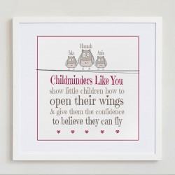 Childminder Thank You