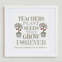 Teachers Plant Seeds ..