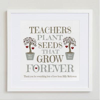 Teachers Plant Seeds ..